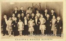 cir003011 - Chaffers Circus Midgets, Smallest Person Postcard Post Card