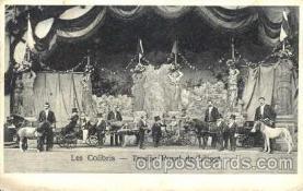 cir003047 - Les Colibris, Smallest Person, Midget, Midgets, Dwarf,  Circus Postcard Post Card