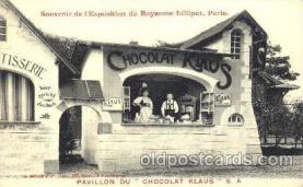 cir003050 - Chocolat Klaus, Smallest Person, Midget, Midgets, Dwarf,  Circus Postcard Post Card