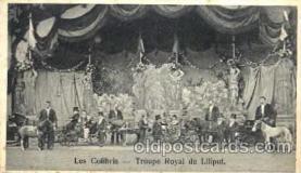 cir003051 - Les Colibris, Smallest Person, Midget, Midgets, Dwarf,  Circus Postcard Post Card