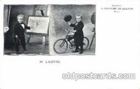 cir003053 - Mr. Ludwid Smallest Person, Midget, Midgets, Dwarf,  Circus Postcard Post Card