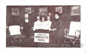 cir003065 - Smallest Person, Midget, Midgets, Dwarf,  Circus Postcard Post Card