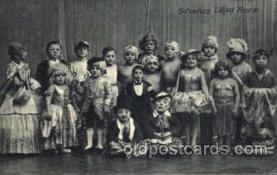 cir003069 - Scheuer's Liliputaner, Smallest Person, Midget, Midgets, Dwarf,  Circus Postcard Post Card