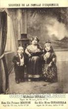 cir003078 - Madame Stella, Prince Mignon, Miss Corabella, Smallest Person, Midget, Midgets, Dwarf,  Circus Postcard Post Card