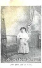 cir003084 - Lady Zena age 34, Smallest Person, Midget, Midgets, Dwarf,  Circus Postcard Post Card