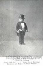 cir003092 - Turkish Tom Thumb, Smallest Person, Midget, Midgets, Dwarf,  Circus Postcard Post Card