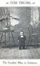 cir003096 - Tom Thumb Smallest Person, Midget, Midgets, Dwarf,  Circus Postcard Post Card