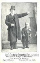 cir003103 - Tom Thumb Smallest Person, Midget, Midgets, Dwarf,  Circus Postcard Post Card