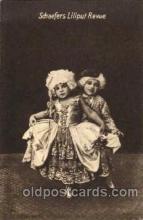 cir003111 - Scheuer's Liliputaner, Smallest Person, Midget, Midgets, Dwarf,  Circus Postcard Post Card
