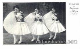 cir003123 - Circus Midgets postcard Post Card