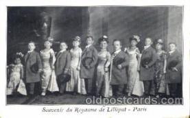 cir003126 - Circus Midgets postcard Post Card