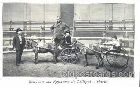 cir003128 - Circus Midget Midgets postcard Post Card