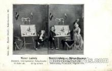 cir003132 - Mister Ludwig and Misses Dagmar. Circus Midgets, Smallest Person Postcard Post Card