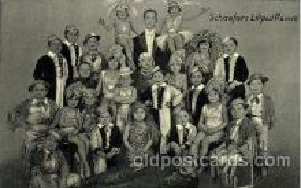 cir003134 - Schaefers Liliput Revue, Circus Midgets, Smallest Person Postcard Post Card