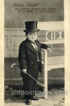 cir003143 - Prinz Atom, Circus Midgets, Smallest Person Postcard Post Card