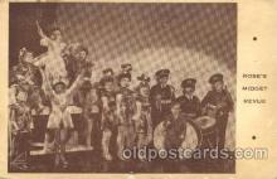 cir003147 - Circus Smallest Person, Midget Postcard Post Card