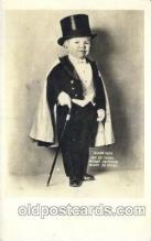 cir003168 - Major Mite age 21, Smallest Person, Midget, Midgets, Circus Postcard Post Card