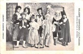 cir003207 - Circus Post Card, Old Vintage Antique Postcard