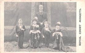 cir003215 - Circus Post Card, Old Vintage Antique Postcard