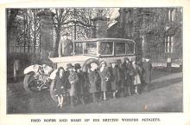 cir003217 - Circus Post Card, Old Vintage Antique Postcard