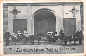cir003227 - Circus Post Card, Old Vintage Antique Postcard