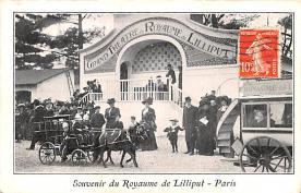 cir003229 - Circus Post Card, Old Vintage Antique Postcard