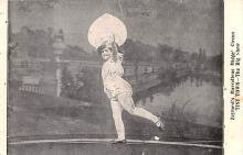 cir003231 - Circus Post Card, Old Vintage Antique Postcard