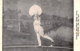 cir003231 - Circus Post Card, Old Vintage Antique Postcard