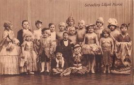 cir003239 - Circus Post Card, Old Vintage Antique Postcard