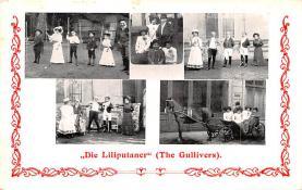 cir003241 - Circus Post Card, Old Vintage Antique Postcard