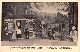 cir003243 - Circus Post Card, Old Vintage Antique Postcard