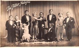 cir003245 - Circus Post Card, Old Vintage Antique Postcard