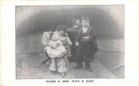cir003247 - Circus Post Card, Old Vintage Antique Postcard