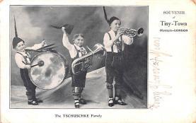 cir003249 - Circus Post Card, Old Vintage Antique Postcard