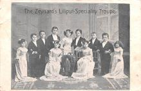 cir003257 - Circus Post Card, Old Vintage Antique Postcard