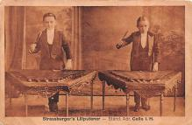 cir003267 - Circus Post Card, Old Vintage Antique Postcard
