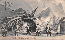 cir003273 - Circus Post Card, Old Vintage Antique Postcard