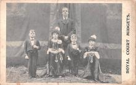 cir003275 - Circus Post Card, Old Vintage Antique Postcard