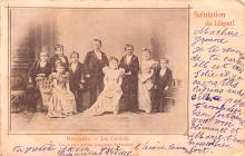 cir003277 - Circus Post Card, Old Vintage Antique Postcard