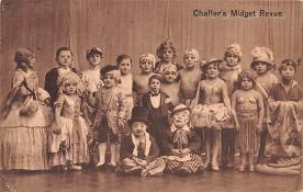 cir003279 - Circus Post Card, Old Vintage Antique Postcard