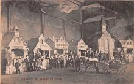 cir003283 - Circus Post Card, Old Vintage Antique Postcard