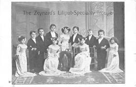 cir003295 - Circus Post Card, Old Vintage Antique Postcard