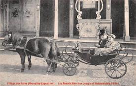cir003299 - Circus Post Card, Old Vintage Antique Postcard