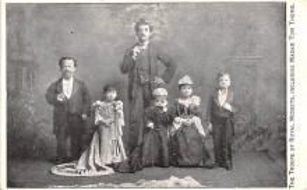 cir003303 - Circus Post Card, Old Vintage Antique Postcard