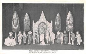 cir003305 - Circus Post Card, Old Vintage Antique Postcard