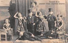 cir003307 - Circus Post Card, Old Vintage Antique Postcard