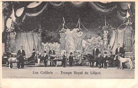 cir003311 - Circus Post Card, Old Vintage Antique Postcard