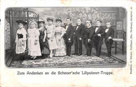 cir003313 - Circus Post Card, Old Vintage Antique Postcard