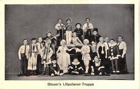cir003315 - Circus Post Card, Old Vintage Antique Postcard