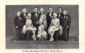 cir003317 - Circus Post Card, Old Vintage Antique Postcard